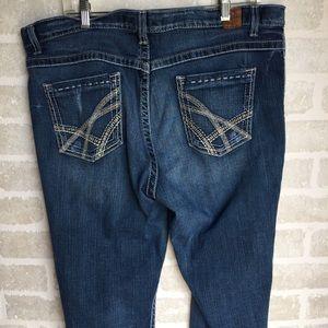 Plus size women's 36 x 33 1/2  BKE  Drew jeans